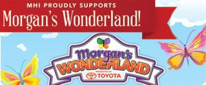 MHI Proudly Suports Morgan's Wonderland