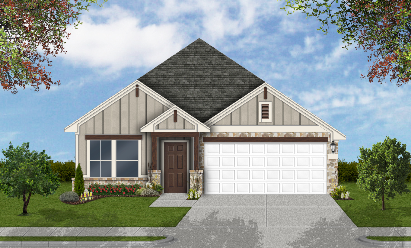 New Build Homes Hutto Tx