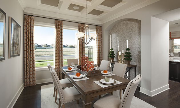 Dining Room - The St. Charles (4095 Plan)