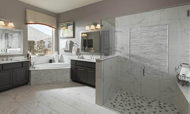 Master Bathroom - The St. Charles (4095 Plan)