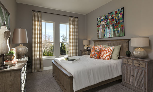 Secondary Bedroom - The St. Charles (4095 Plan)