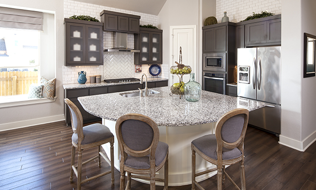 Kitchen - The Burkburnett II (Design 2480)