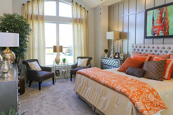 Master Bedroom - The St. Charles (4170 Plan)