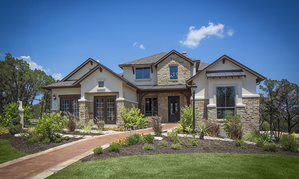 New homes in canyon ridge at rough hollow lakeway tx for Coventry home builders