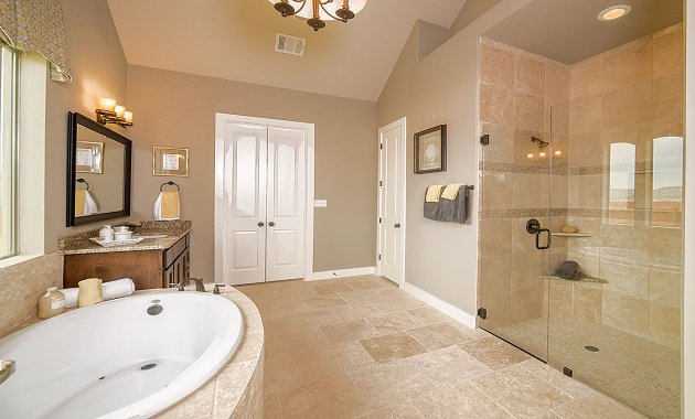 Master Bathroom - Design 3563