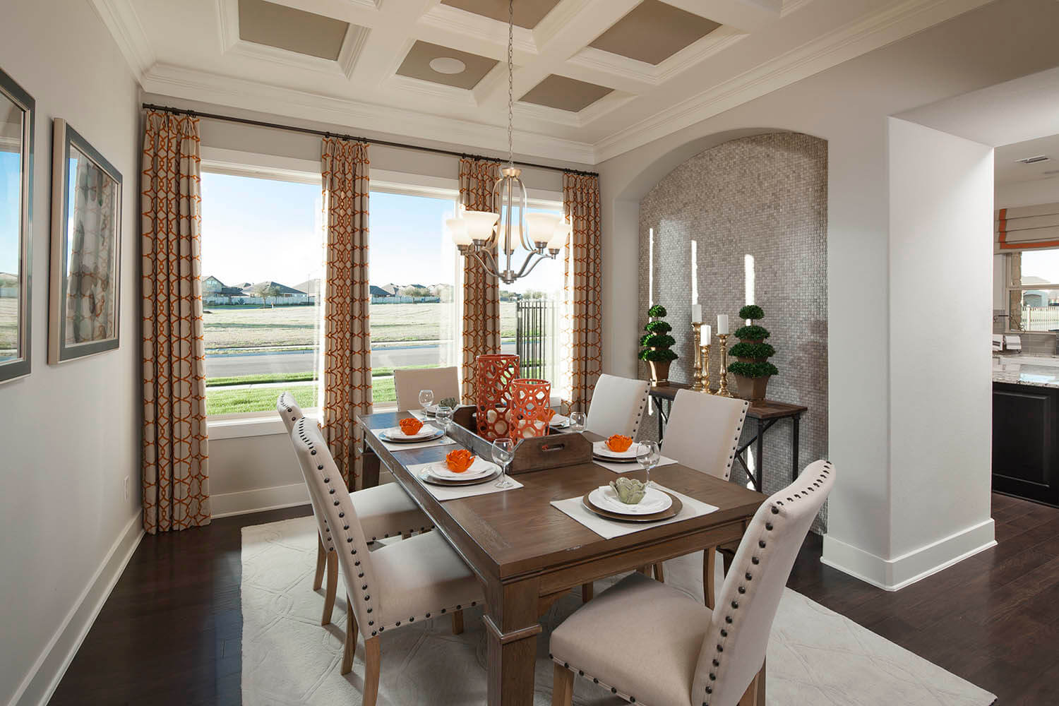 Dining Room - The St. Charles (Plan 4095)