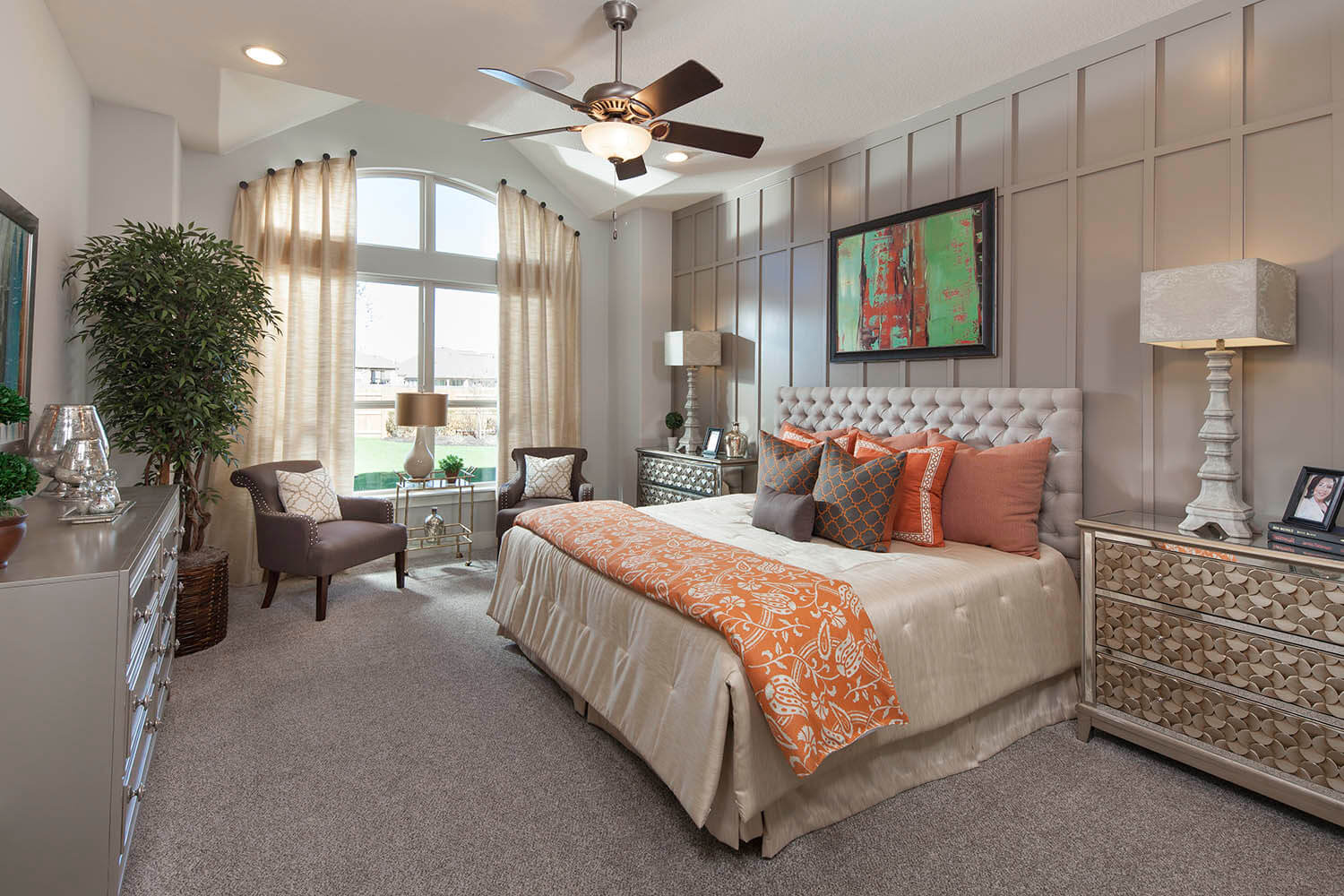 Master Bedroom - The St. Charles (Plan 4095)
