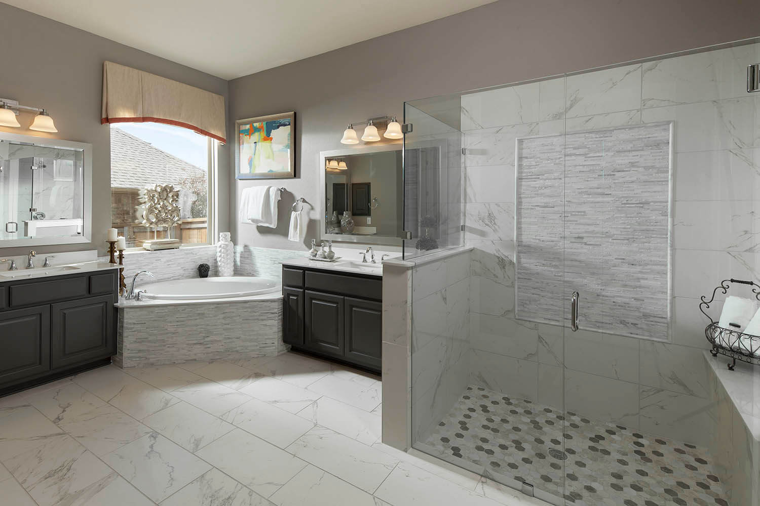 Master Bathroom - The St. Charles (Plan 4095)