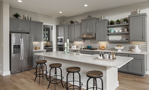 Kitchen - The Groveton (2718 Plan)