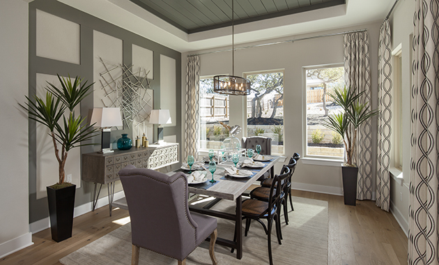 Dining Room - The Groveton (2718 Plan)