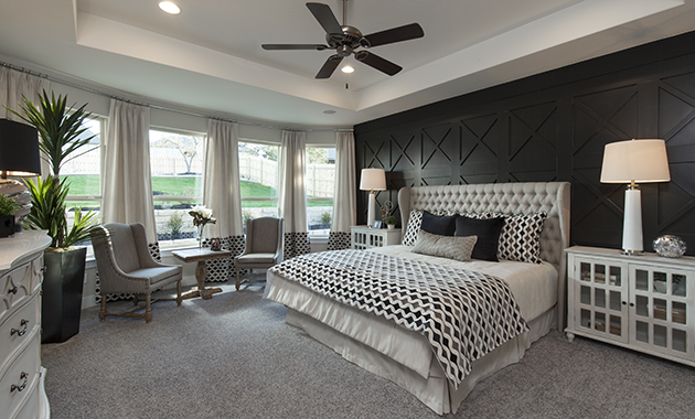 Master Bedroom - The Groveton (2718 Plan)