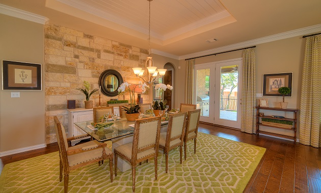 Dining Room - The San Gabriel (3217 Plan)