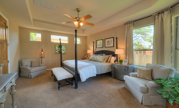Master Bedroom - The San Gabriel (3217 Plan)
