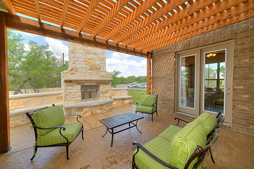 Outdoor Patio - The San Gabriel (3217 Plan)