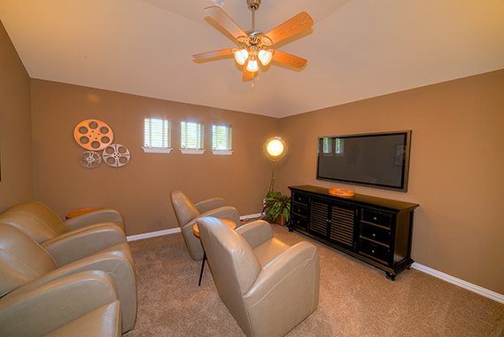Media Room - The San Gabriel (3217 Plan)
