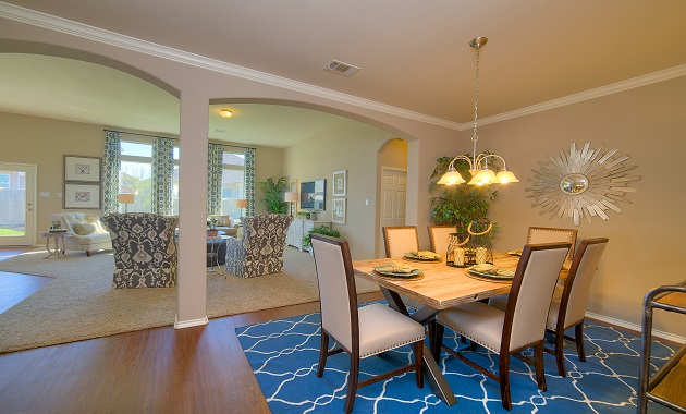 Dining/Living Room - The Warrenton XVIII (5908 Plan)