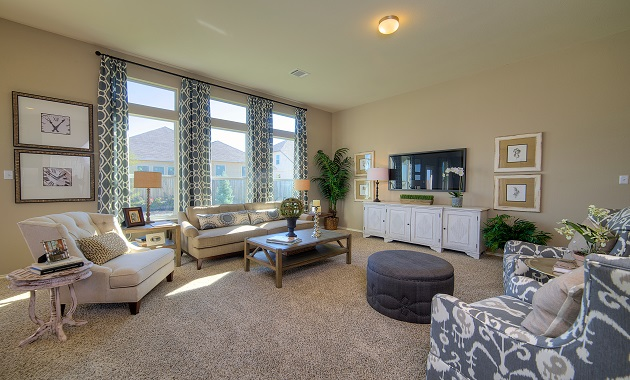 Living Room - The Warrenton XVIII (5908 Plan)