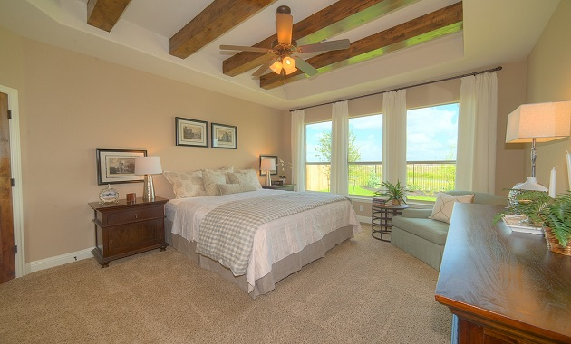 Master Bedroom - The Logan II (3377 Plan)