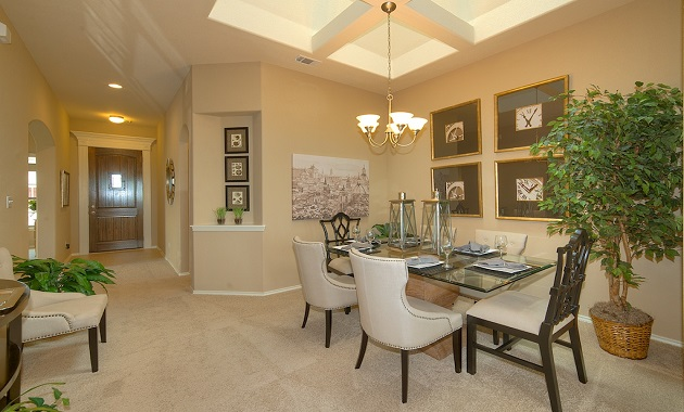 Dining Room - The Warrenton XXI (5396 Plan)