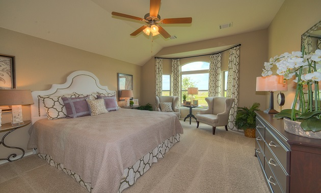 Master Bedroom - The Warrenton XXI (5396 Plan)