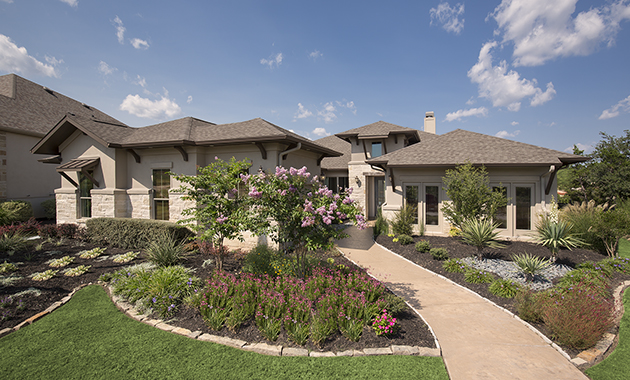 Front Elevation - The Greystone (Design 3207)