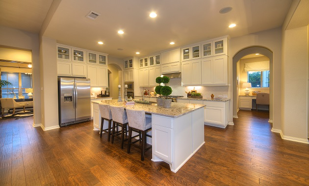 Kitchen - The Greystone (3207 Plan)