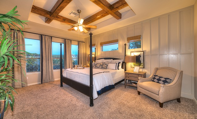 Master Bedroom - The Greystone (3207 Plan)