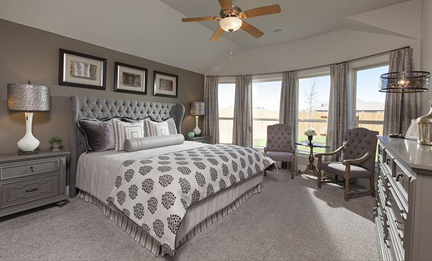 Master Bedroom - The Burkburnett II (Design 2480)