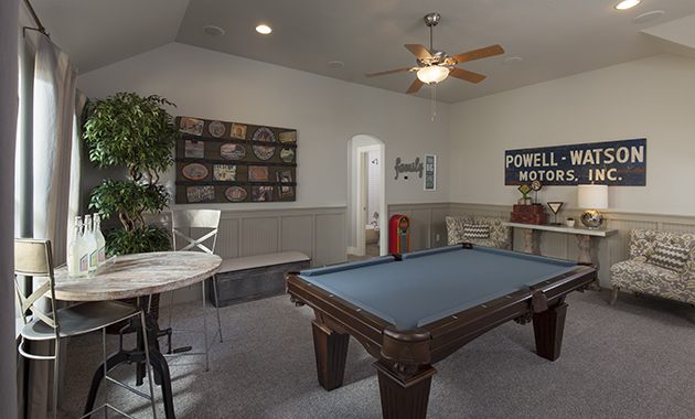 Game Room - The Burkburnett II (Design 2480)