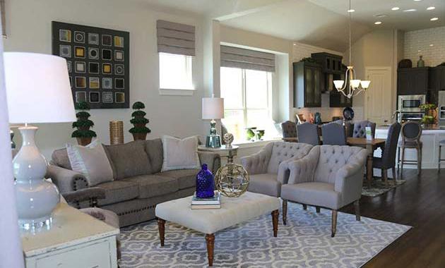 Living Room - The Burkburnett II (2480 Plan)