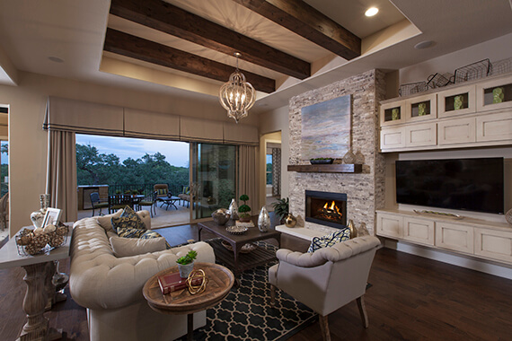 Family Room - Design 3454