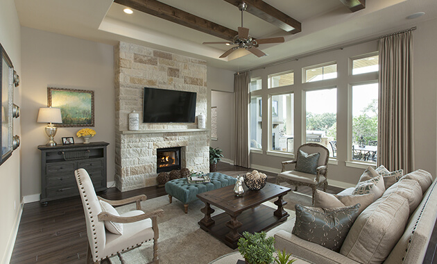 Family Room  - Design 3719