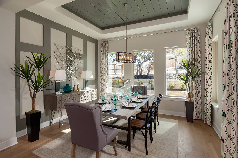 Dining Room - The Groveton (2718 Plan)
