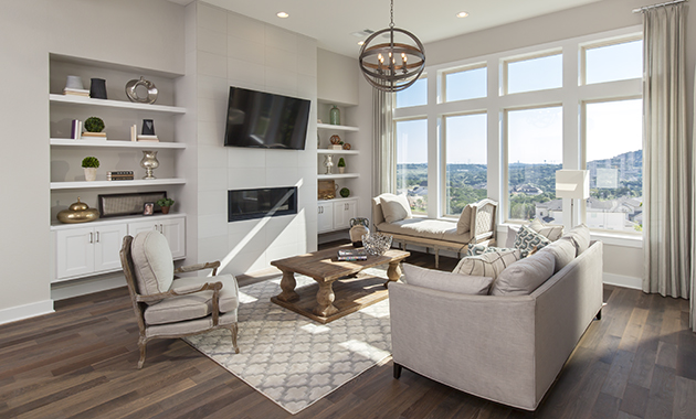 Build On Your Lot - Family Room