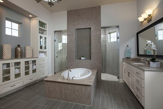 Build On Your Lot - Master Bathroom