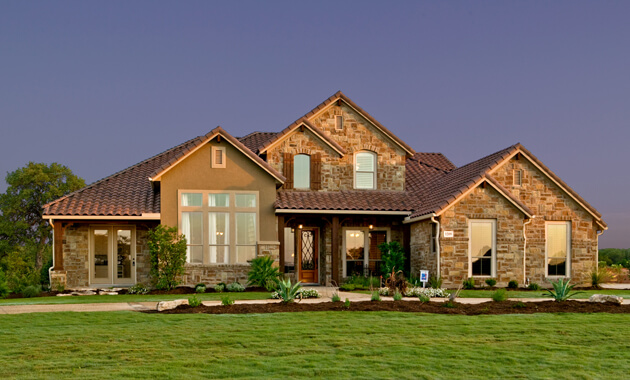 Build On Your Lot Model Home in Vintage Oaks