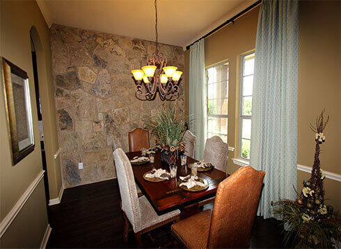 Model Home Dining Room