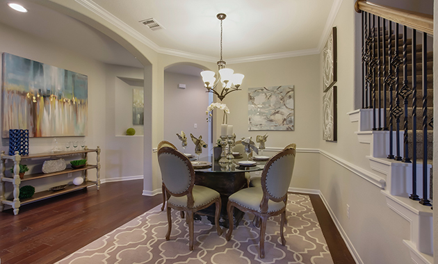 Dining Area - The Warrenton XII (5885 Plan)
