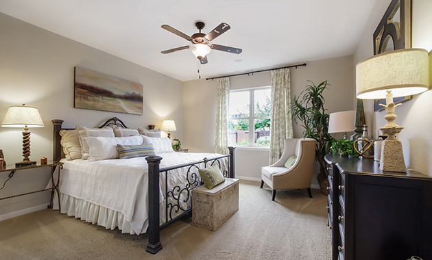 Master Bedroom - The Warrenton XII (5885 Plan)