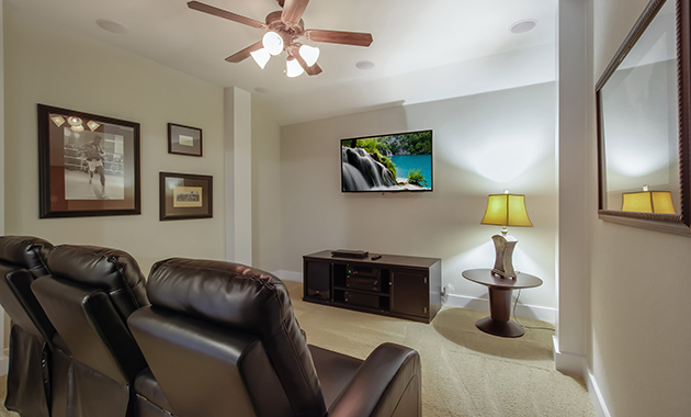 Media Room - The Warrenton XII (5885 Plan)