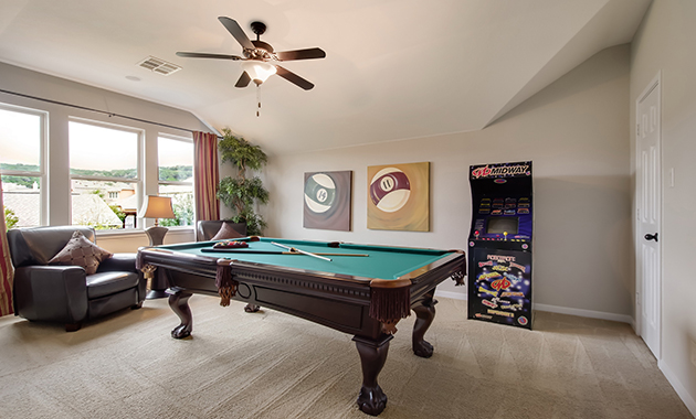 Game Room - The Warrenton XII (5885 Plan)