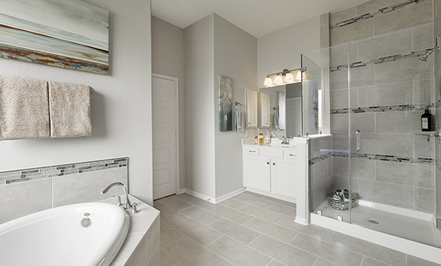 Master Bathroom - The Calvert (Design 2539)