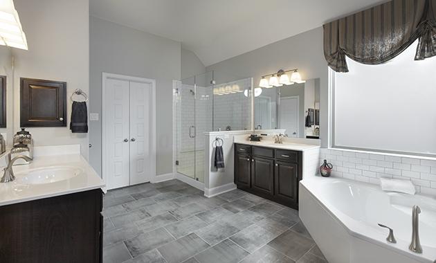 Master Bathroom - Design 3287
