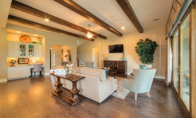 Living Room - The Laguna (2583 Plan)