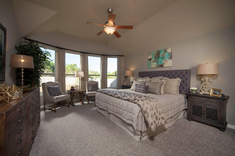 Master Bedroom - The Burkburnett II (2480 Plan)