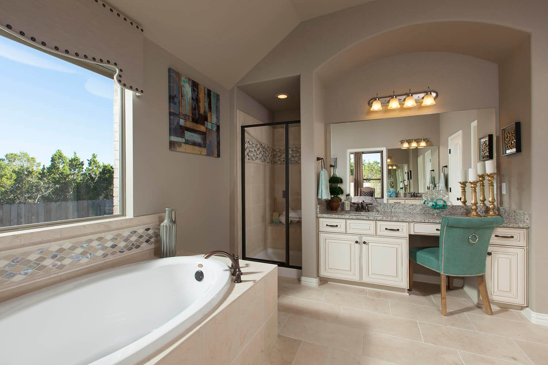 Master Bathroom - The Burkburnett II (2480 Plan)
