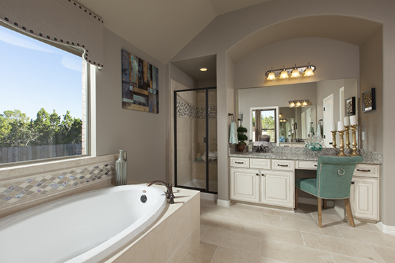 Master Bathroom - The Burkburnett II (2480 Plan)