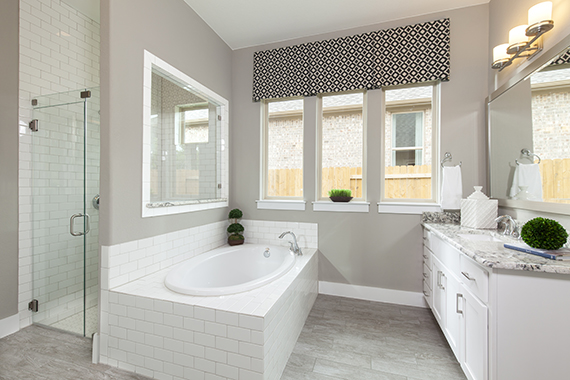Master Bathroom - The Burkett (2711 Plan)