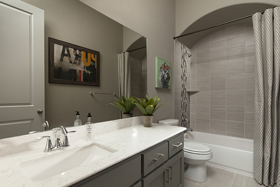 Secondary Bathroom - The Burkett (2711 Plan)