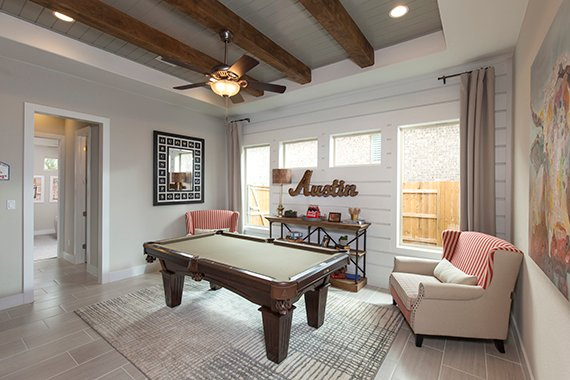 Game Room - The Burkett (2711 Plan)